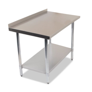 Image for cksonline.com.au for the Borrelli 1200mm Wall Table - 430 Food Grade Stainless Steel